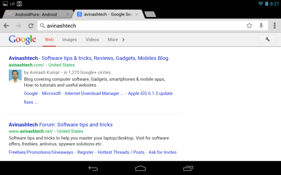 Google Chrome Update Brings Fullscreen On Phones, Tab History On