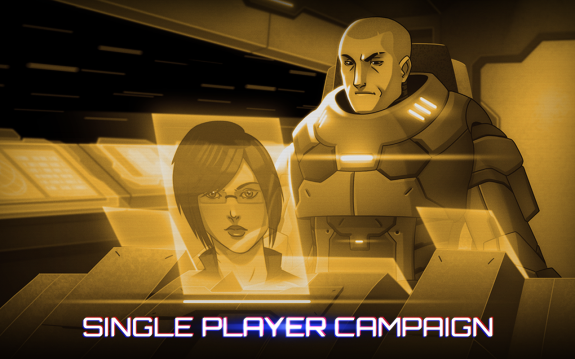 Neon Shadow Android Single Player Campaign