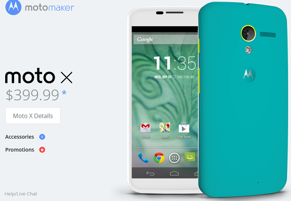 Motorola Moto X price drop