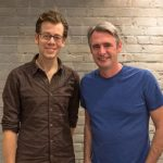 Zite Co-founder and CTO Mike Klaas and Flipboard CEO Mike McCue