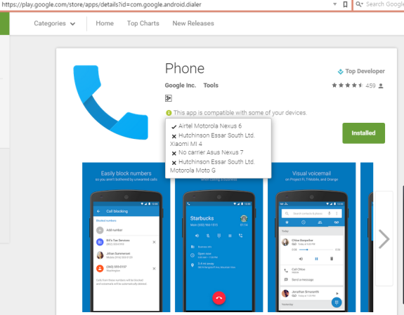 Stock Phone Dialer Contacts Google Play
