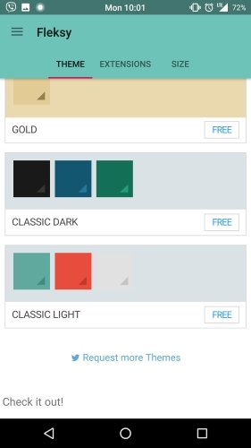 Fleksy makes all themes free for its Android Keyboard