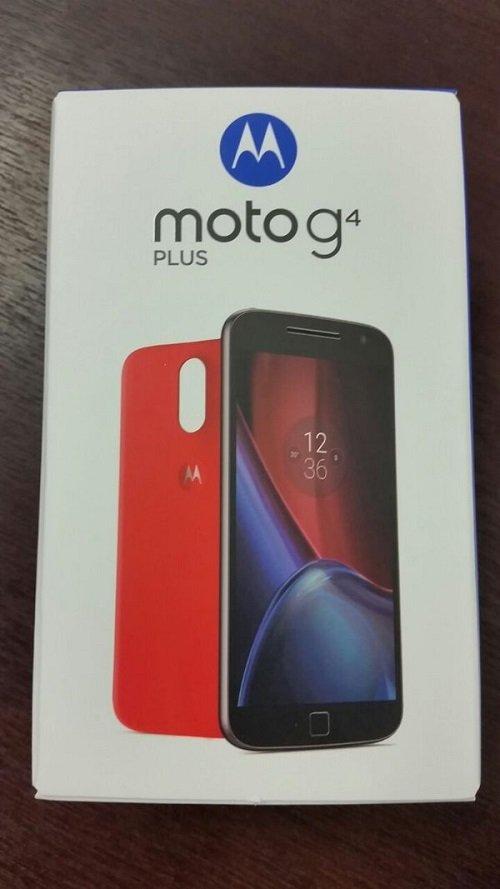 Moto G4 Plus Front