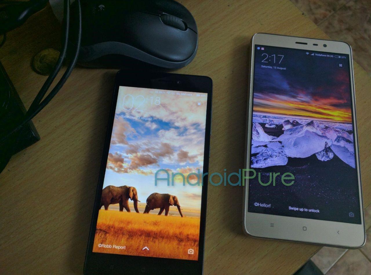 Redmi 3S Prime handson vs Redmi Note 3 Redmi 3S Prime hands on photos and quick review 11