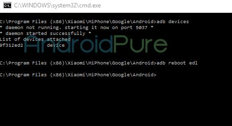 Redmi Note 3 EDL