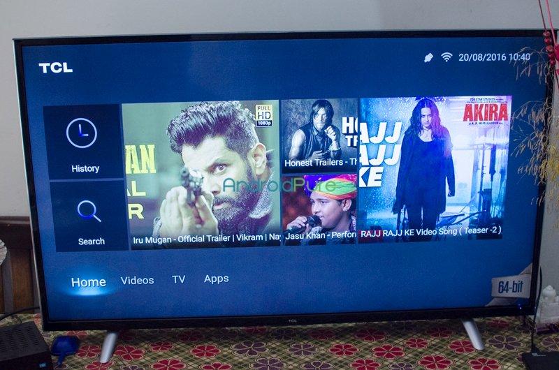 TCL L43P1US 43 Ultra HD TV-1