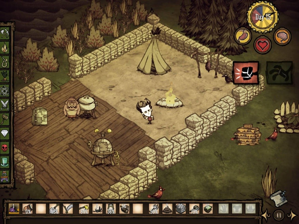 Dont Starve Pocket Edition 2 Don't Starve: Pocket Edition is available for Rs. 270 ($4) on Google Play (Open Beta) 3