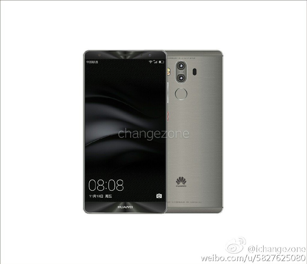 Huawei Mate 9 g New Huawei Mate 9 press renders with dual cameras leaked 1