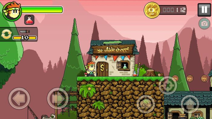 Dan The Man in game store 2 Halfbrick Studios' action platformer Dan The Man is now available globally on Google Play 15