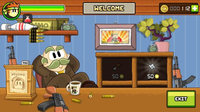 Dan The Man in game store Halfbrick Studios' action platformer Dan The Man is now available globally on Google Play 16
