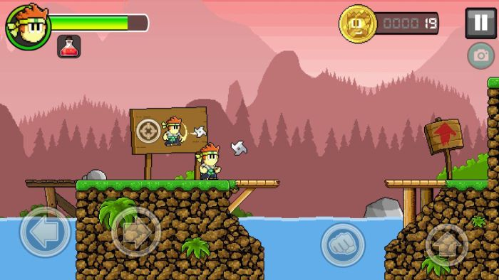 Dan The Man shuriken Halfbrick Studios' action platformer Dan The Man is now available globally on Google Play 13