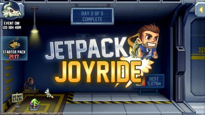 Jetpack Joyride Halloween Update Jetpack Joyride Halloween update brings Bone Dragon, Grim Reaper costume, Jack-o'-lantern jetpack and more 1