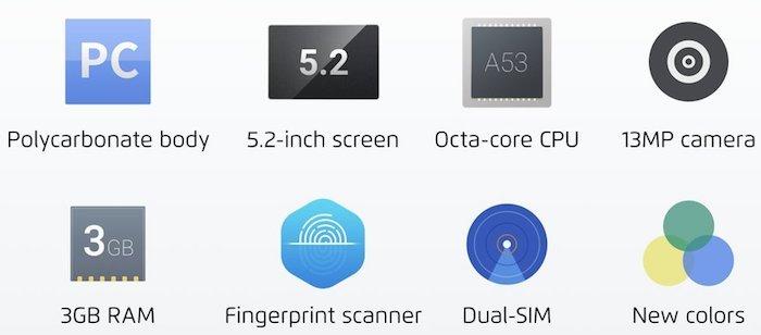 Meizu M5 specs - Meizu M5 with 5.2 inch HD display, 2/3 GB RAM, fingerprint sensor launched in China