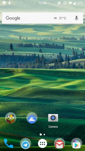 Nova Launcher Google Search Widget Weather 3 - Nova Launcher Beta adds support for Android 7.1 Launcher Shortcuts, Weather in searchbar