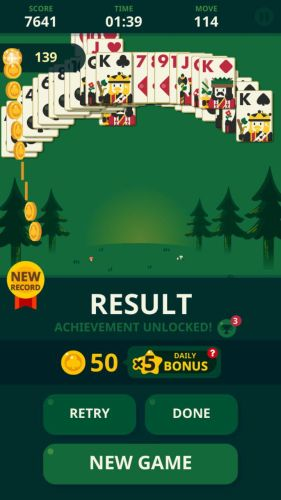 Solitaire Decked Out Ad Free win 1 Solitaire: Decked Out Ad Free is the best version of Patience/Klondike card game ever made 10