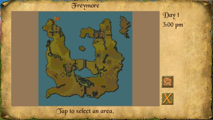 The Quest Map 2 The Quest RPG is now available for Android devices, and here is our mini review of the game 10