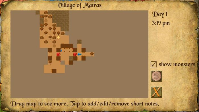 The Quest Map The Quest RPG is now available for Android devices, and here is our mini review of the game 9