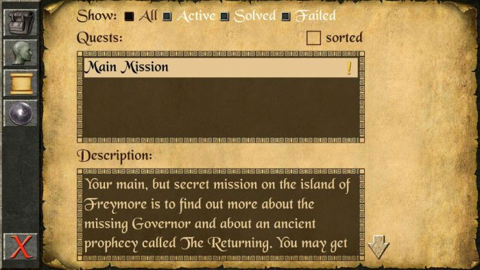 The Quest log The Quest RPG is now available for Android devices, and here is our mini review of the game 6
