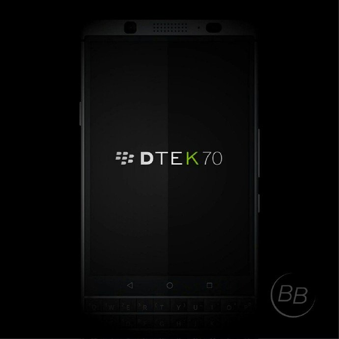 Blackberry DTEK70 BlackBerry DTEK70 Mercury Renders with QWERTY Keyboard leaked ahead of official launch 3 Leaks | News | Phones