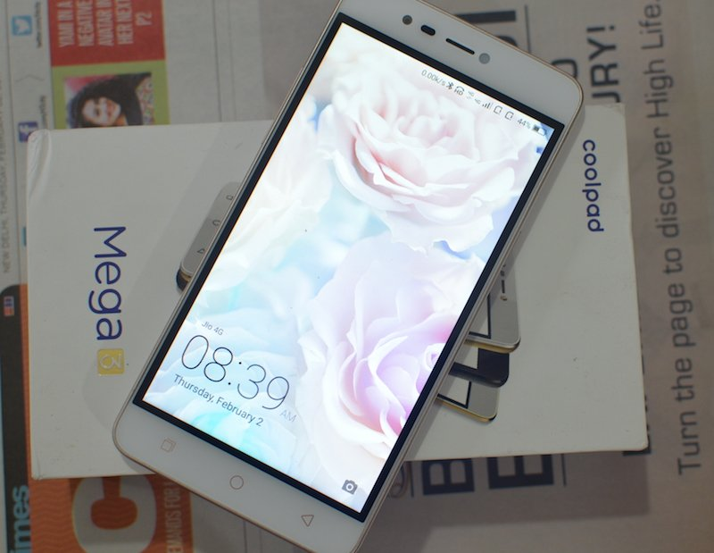 Coolpad Mega 3 - Home