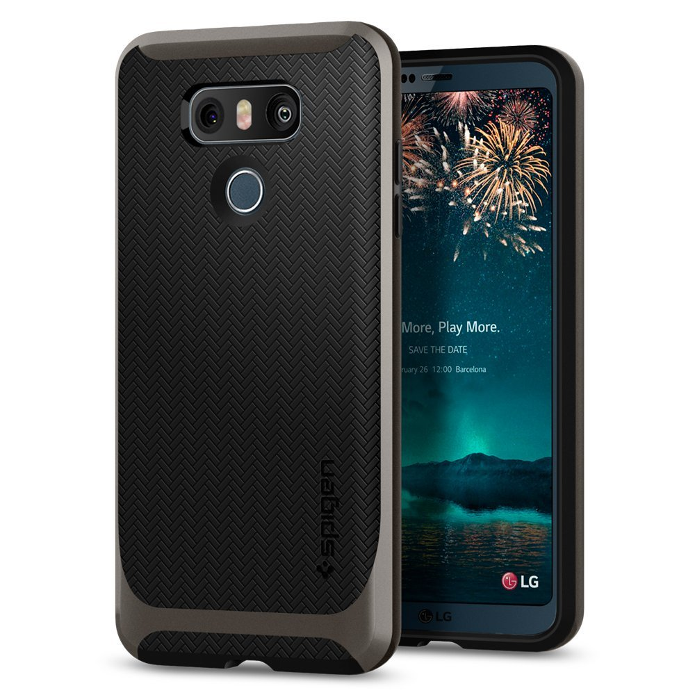 LG G6 Spigen f Exclusive: LG G6 cases by Spigen, Dgtle, CoverOn and more pop up, confirm design 6