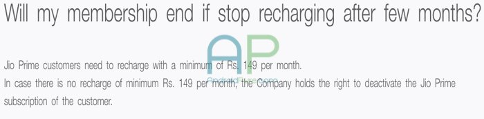 Jio Prime Minimum recharge - AndroidPure
