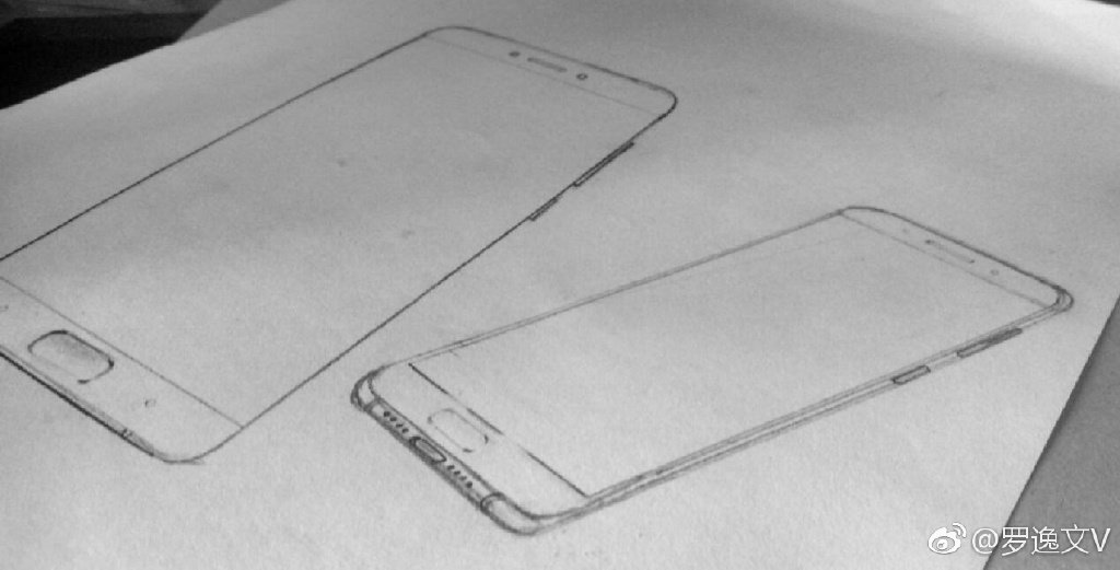 Xiaomi Mi6 Alleged Xiaomi Mi 6 Sketches indicate Dual camera setup at back 2