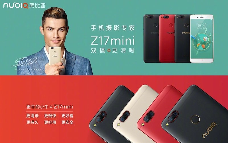 Nubia Z17 Mini Nubia Z17mini with 13 MP dual camera, 6 GB RAM announced 2
