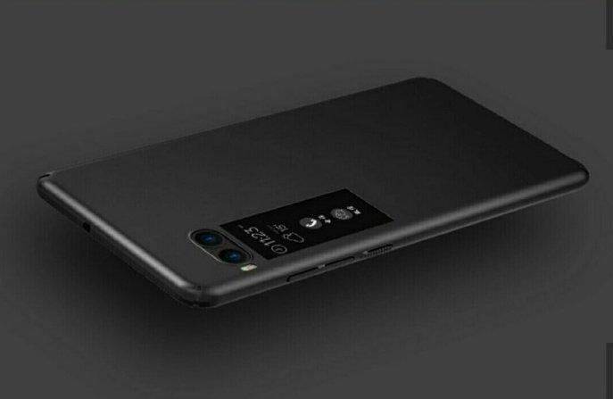 Meizu Pro 7 c Alleged Meizu Pro 7 Press Renders with Dual Camera and Dual Screen leak 4 Leaks | News | Phones