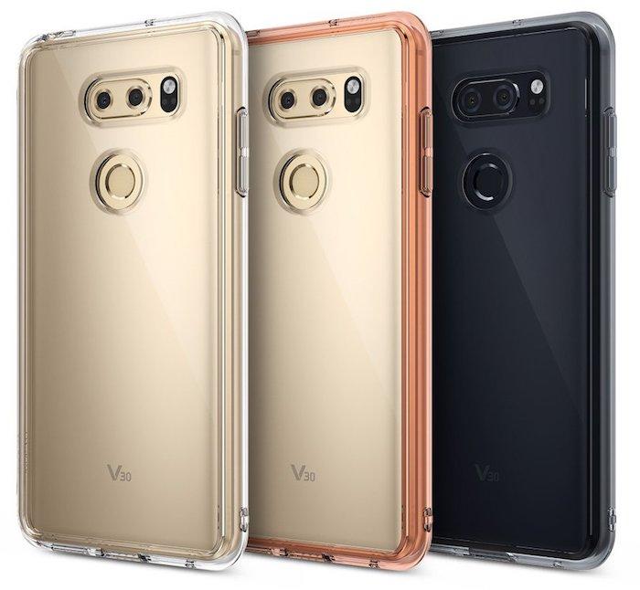 LG V30 Case LG V30 case leak reveals the rear panel design 1 Leaks | News | Phones