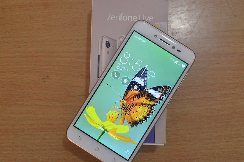 Zenfone Live Asus Zenfone Live Review: Just the Beauty Live 1