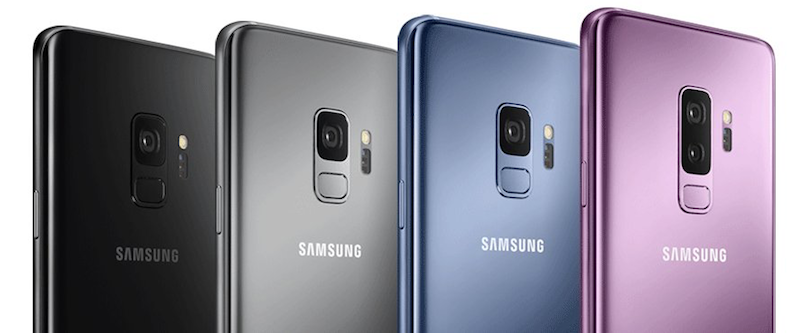 Galaxy S9 colours - AndroidPure