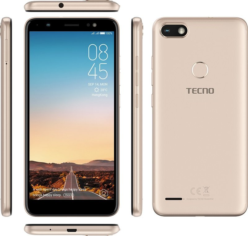042307962 Tecno Camon i Sky Tecno Camon i Sky with 5.45 inch 18 9 display