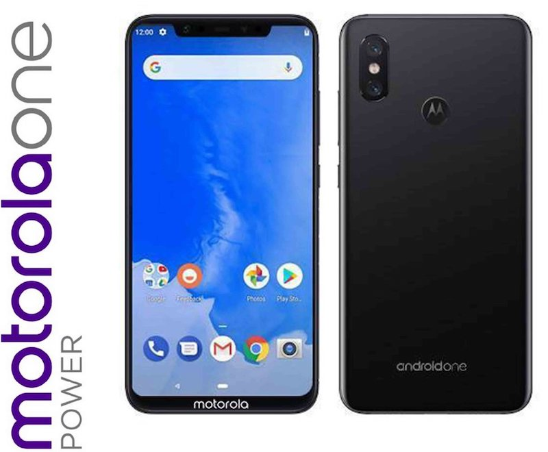 Motorola One Power Renders of Motorola Moto One Power with 4850mAh battery surface on TENAA 5
