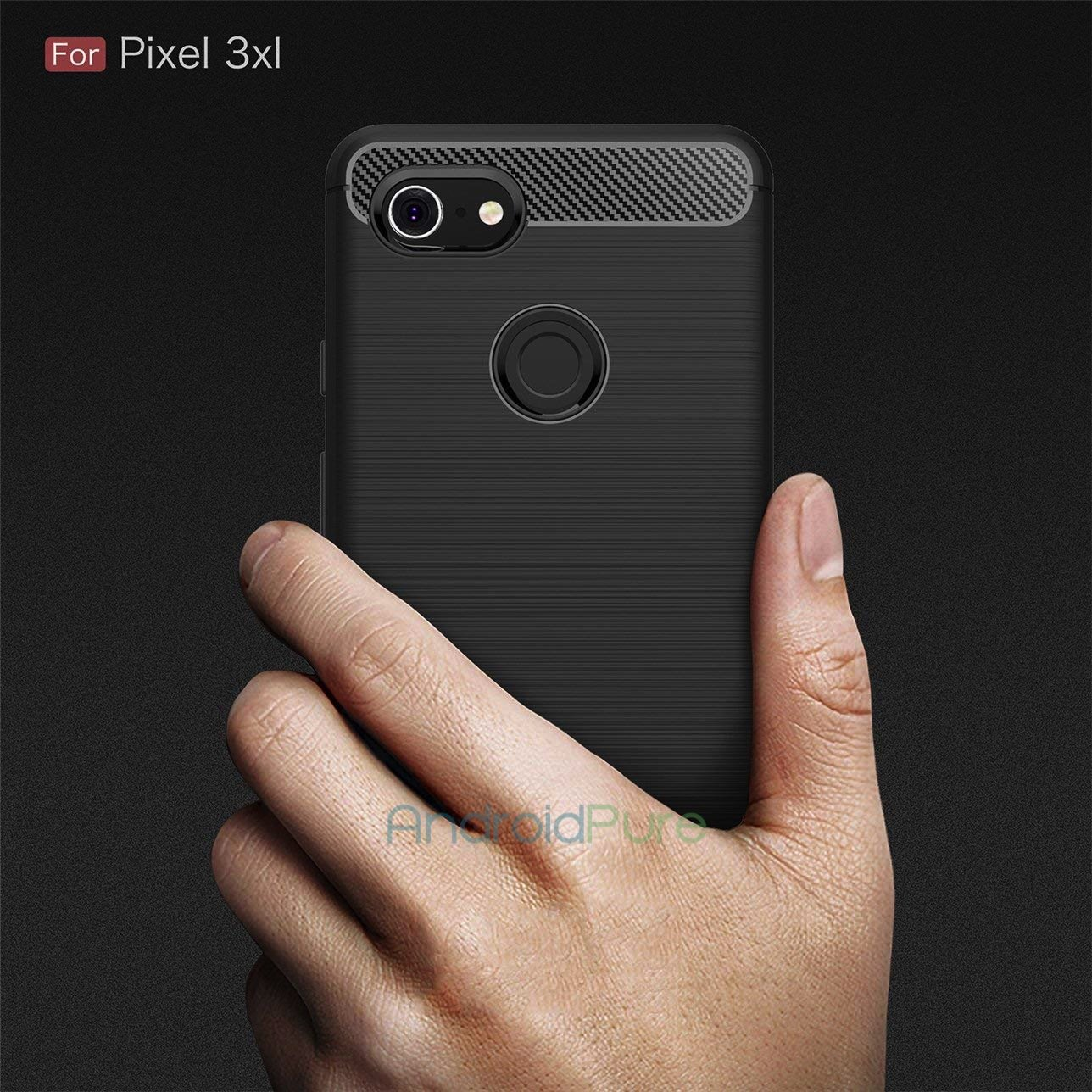 PIXEL 3 XL j Exclusive: Pixel 3 XL leaked cases reveal notch, single rear camera 9 Leaks | News | Phones