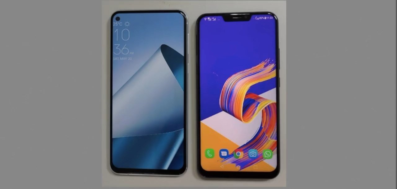 Asus ZenFone 6 leaked prototype video 6 ASUS Zenfone 6 leaked prototype designs reveal triple rear cameras and notch-less display [Updated] 6