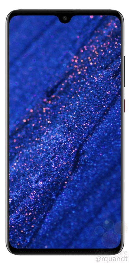 Huawei Mate 20 leaked press renders