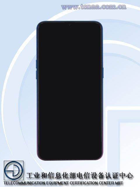 OPPO K1 2 Official Oppo K1 Render confirms In-Display Fingerprint and waterdrop display 4