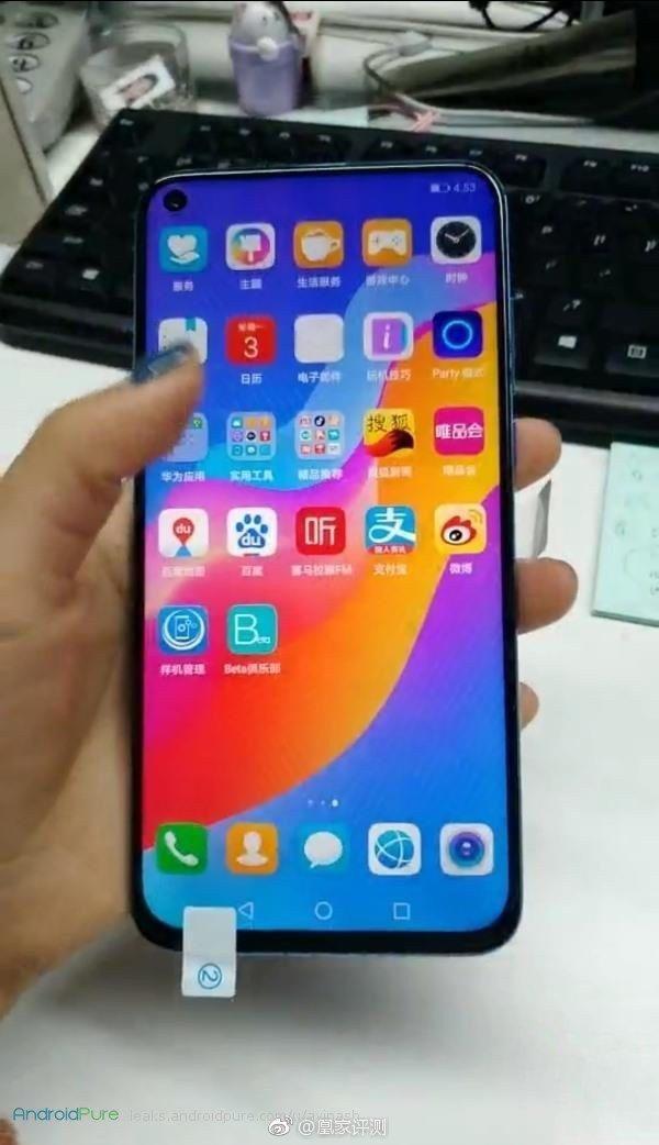 Huawei Nova 4 f Huawei Nova 4 real images leaked ahead of the launch 6