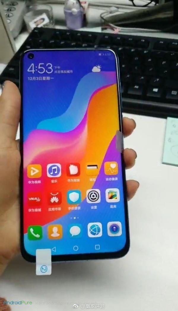 Huawei Nova 4 g Huawei Nova 4 real images leaked ahead of the launch 5