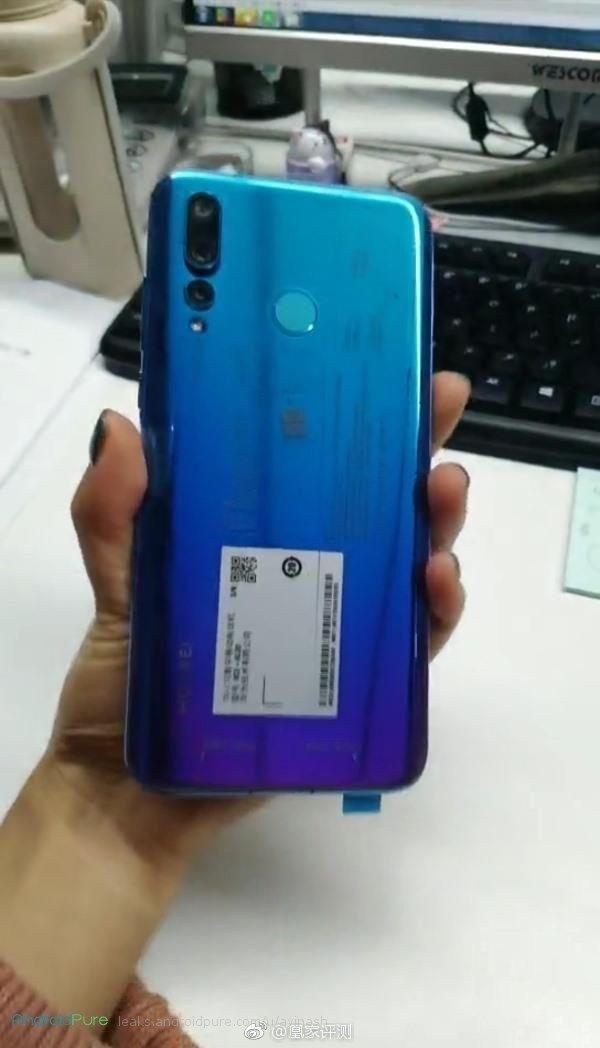 Nova 4 e Huawei Nova 4 real images leaked ahead of the launch 7