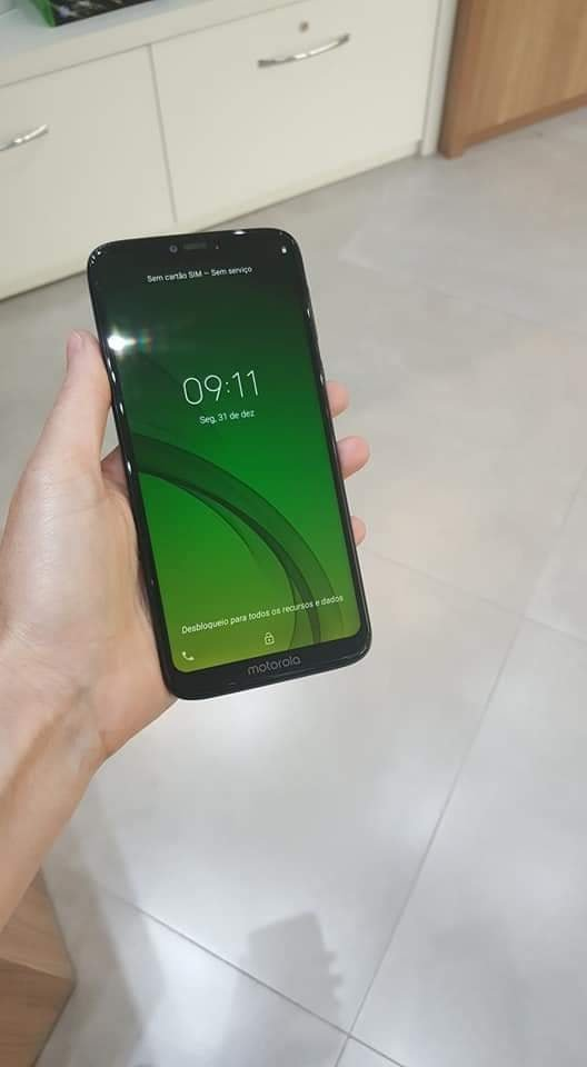 Moto G7 Power leaked real life photo