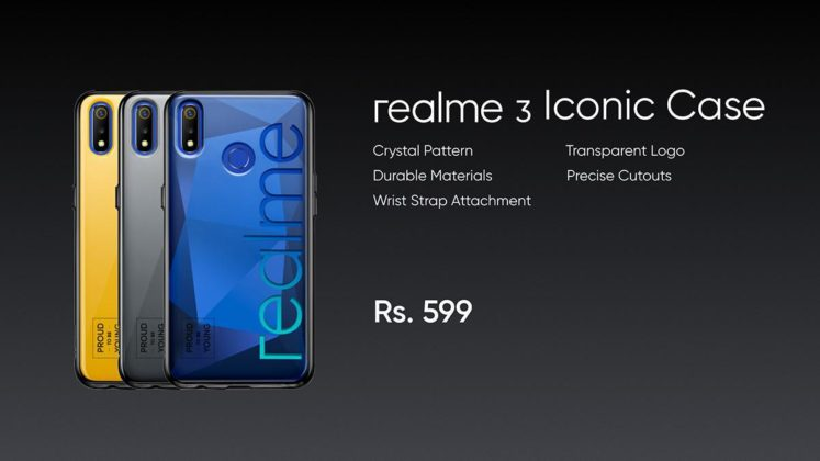 Realme 3 back cover