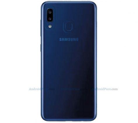 Samsung Galaxy A20e renders