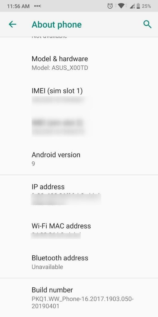 ASUS Zenfone Max Pro M1 Android Pie Update Review version