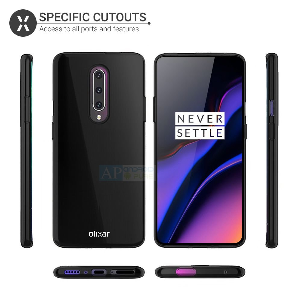 oneplus 7 l OnePlus 7 Pro official Case renders gives the best look at upcoming flagship 1