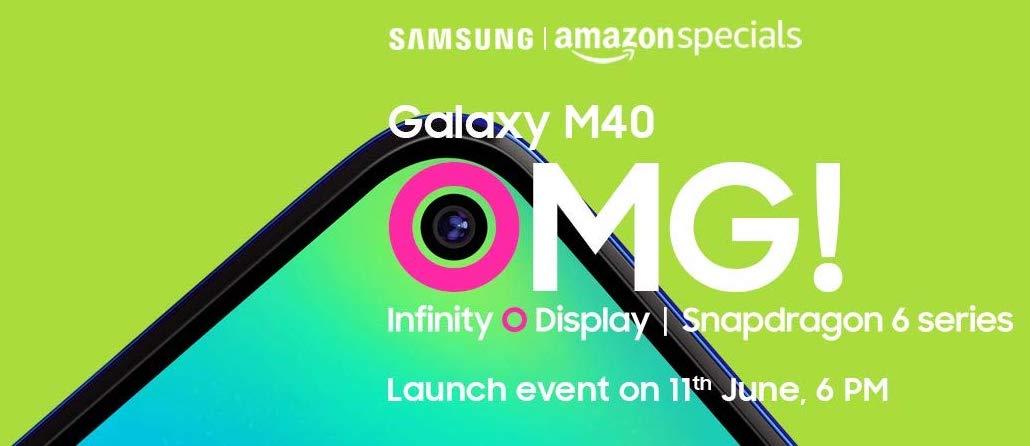 Galaxy M40 launch