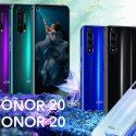 Honor 20 Pro colours