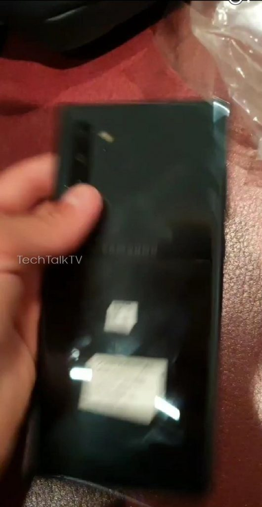Samsung Galaxy Note 10+ real life photos