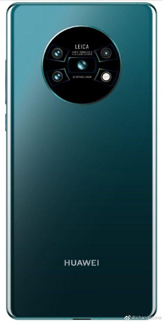 Huawei Mate 30 Pro leaked render